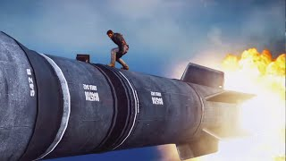 getlinkyoutube.com-RIDING A MISSILE! (Just Cause 3 Funny Moments)