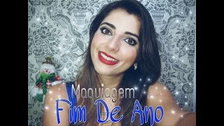 getlinkyoutube.com-MAQUIAGEM PARA FESTAS DE FIM DE ANO - LIZANDRA AMORIM