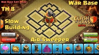 getlinkyoutube.com-COC l The Miracle TH8 Clan War Base With Air Sweeper - Anti 3 Stars (Dragons,Hogs,Gowipe)