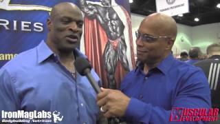 getlinkyoutube.com-LA FitExpo 2015 | Shawn Ray interviews Ronnie Coleman