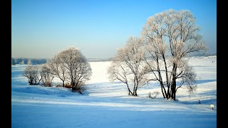 10 minute watercolour snow scene