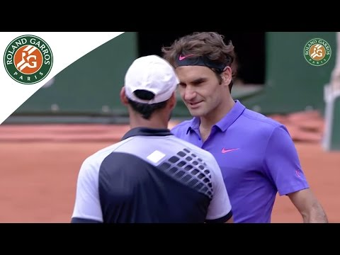 Roger Federer v. Alejandro Falla 2015 French Open Men`s R128 Highlights