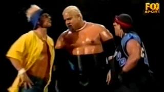 Rikishi (Too Cool) (Triple H & Stephanie) VS. Big Show (Shane) - WWF Smackdown! 3/16/00