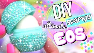 DIY SPARKLY EOS LIP BALM!