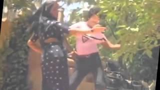 getlinkyoutube.com-Yesteryear actress Sumalatha hot round ass grab by chiranjeevi