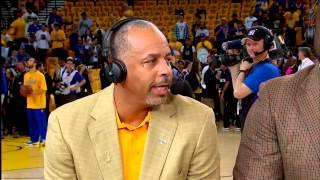 getlinkyoutube.com-Dell Curry Interview - GameTime   Stephen and Seth   2015 NBA Season