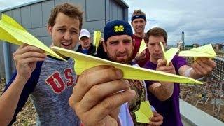getlinkyoutube.com-Paper Airplane Battle