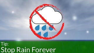 getlinkyoutube.com-How to Stop Rain in Minecraft Forever