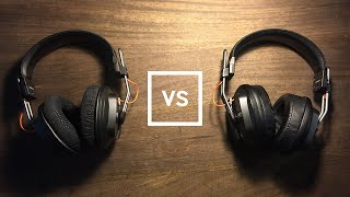 getlinkyoutube.com-Fostex T40RP Shure 1540 vs. Brainwavz Angled - Pad Comparison