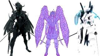 getlinkyoutube.com-The Elder Scrolls V: Skyrim Mods: Sasuke Perfect Susano'o/Transformation Dark Knight and Paladin