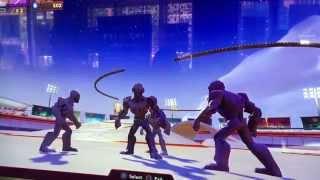 Disney Infinity 3.0 Hulkbuster and Ultron Gameplay SDCC
