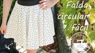getlinkyoutube.com-Cómo hacer una falda circular fácil