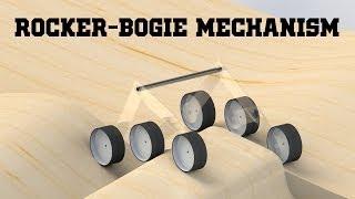 getlinkyoutube.com-Rocker-Bogie Mechanism
