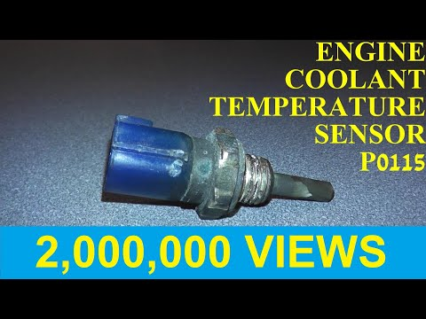How to Test and Replace an Engine Coolant Temperature Sensor P0115/P0125