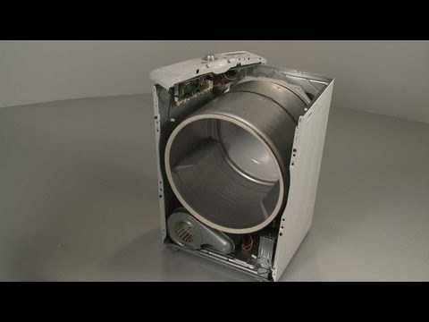 Drum Replacement (part #6913EL3001A) - LG Electric Dryer Repair