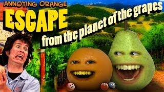 getlinkyoutube.com-Annoying Orange HFA - Escape From the Planet of the Grapes