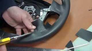 getlinkyoutube.com-Изготовление выкройки на руль авто. Мастер класс 2 метод.