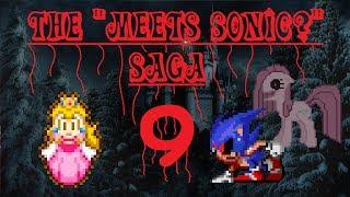 My custom SMBX level: Peach meets Sonic?