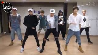 getlinkyoutube.com-BTS 'Silver Spoon (Baepsae)' mirrored Dance Practice [eng sub]