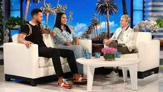 Can Ellen Get Steph & Ayesha Curry to Reveal Their Baby's Gender?