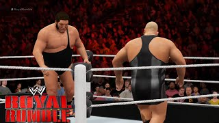 getlinkyoutube.com-WWE 2K16 - 30 man-Royal Rumble  2016 Match Gameplay - Full Match| WWE 2K16 gameplay