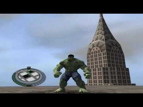 The Hulk Hanging From Empire State Building Gameplay Pc