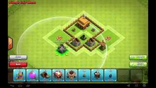 getlinkyoutube.com-Clash of Clans: TH 3: Trophy Base