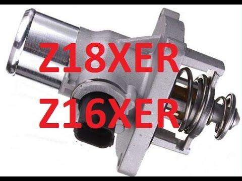 Wymiana termostatu 1.6, 1.8 Astra, Zafira, Vectra, Alfa Romeo, z18xer, z16xer, a16xer, a18xer p0597