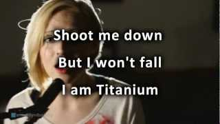 David Guetta - Titanium ft Sia cover by Madilyn Bailey with lyrics HD