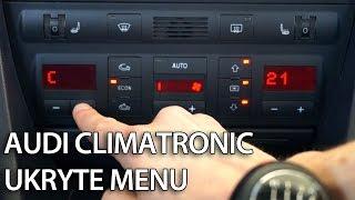 getlinkyoutube.com-Jak uruchomić ukryte menu Climatornic Audi A6 C5 (tryb serwisowy, diagnostyka)