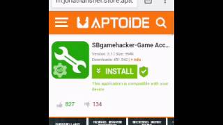 getlinkyoutube.com-COMO INSTALAR GAME HACKER SIN ROOT =D