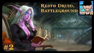 getlinkyoutube.com-WoW Resto Druid PvP 6.2 |Ger| Battleground, GODLIKE !!