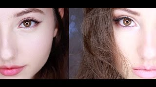 getlinkyoutube.com-Korean VS American Style MakeUp♡