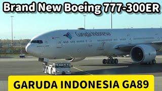 getlinkyoutube.com-Flight Report : Garuda Indonesia Boeing 777-300ER PK-GIG GA89 Amsterdam to Jakarta