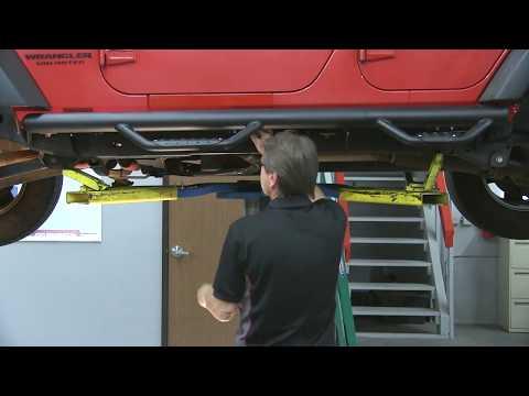 Go Rhino Dominator D2 Side Steps for 4 Door Jeep Wrangler JK  Installation