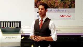 Mimaki Latex Presentation Fespa 2012