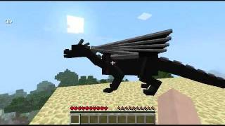 getlinkyoutube.com-Minecraft: Ender Dragon Riding Mod