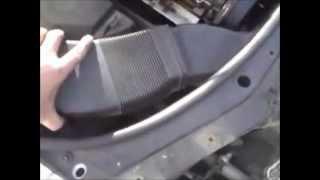 Audi A6 C5 Demontaż Wiatraka Klimatyzacji Youtube
