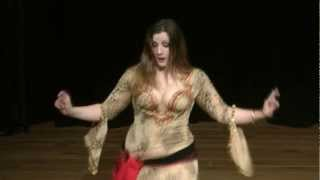 getlinkyoutube.com-Zara Dance - Egyptian  شعبي رقص Shaabi Dance - Sha3by - Fego - Bellydance