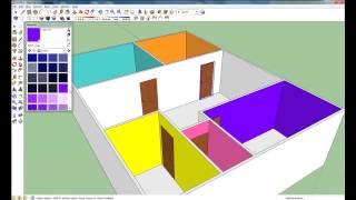 getlinkyoutube.com-สร้างบ้านด้วยโปรแกรม SketchUp ใน 20 นาที