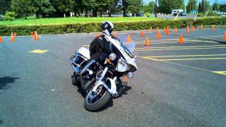 getlinkyoutube.com-New Police Motorcycle demo by Victory.