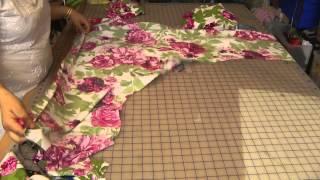 getlinkyoutube.com-Umbrella Dress: Cutting (Smaller)