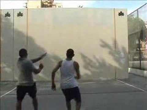2007 Handball Tournament Final in Brooklyn