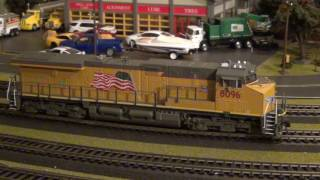 """""""Review"""" Broadway Limited ES44AC Union Pacific"""