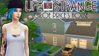 getlinkyoutube.com-The Sims 4: Life is Strange - Chloe Price's House | Speed build + Download