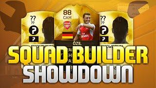 FIFA 16 SQUAD BUILDER SHOWDOWN!!! IF OZIL THE FROG vs AJ3FIFA!! IN FORM Ozil Squad Builder Duel