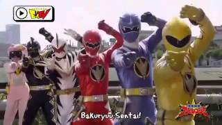 getlinkyoutube.com-Super Sentai All Gokai Changes