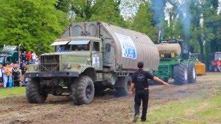 getlinkyoutube.com-Szarvasi majális 2016, traktorhúzó verseny. (KRAZ)