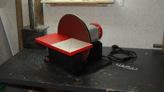 getlinkyoutube.com-Freestyle DIY | A disc sander out of scrap