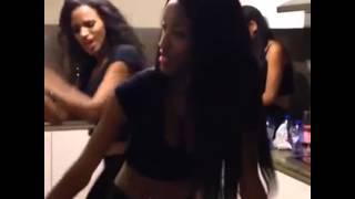 getlinkyoutube.com-Fanny Neguesha dancing and talking